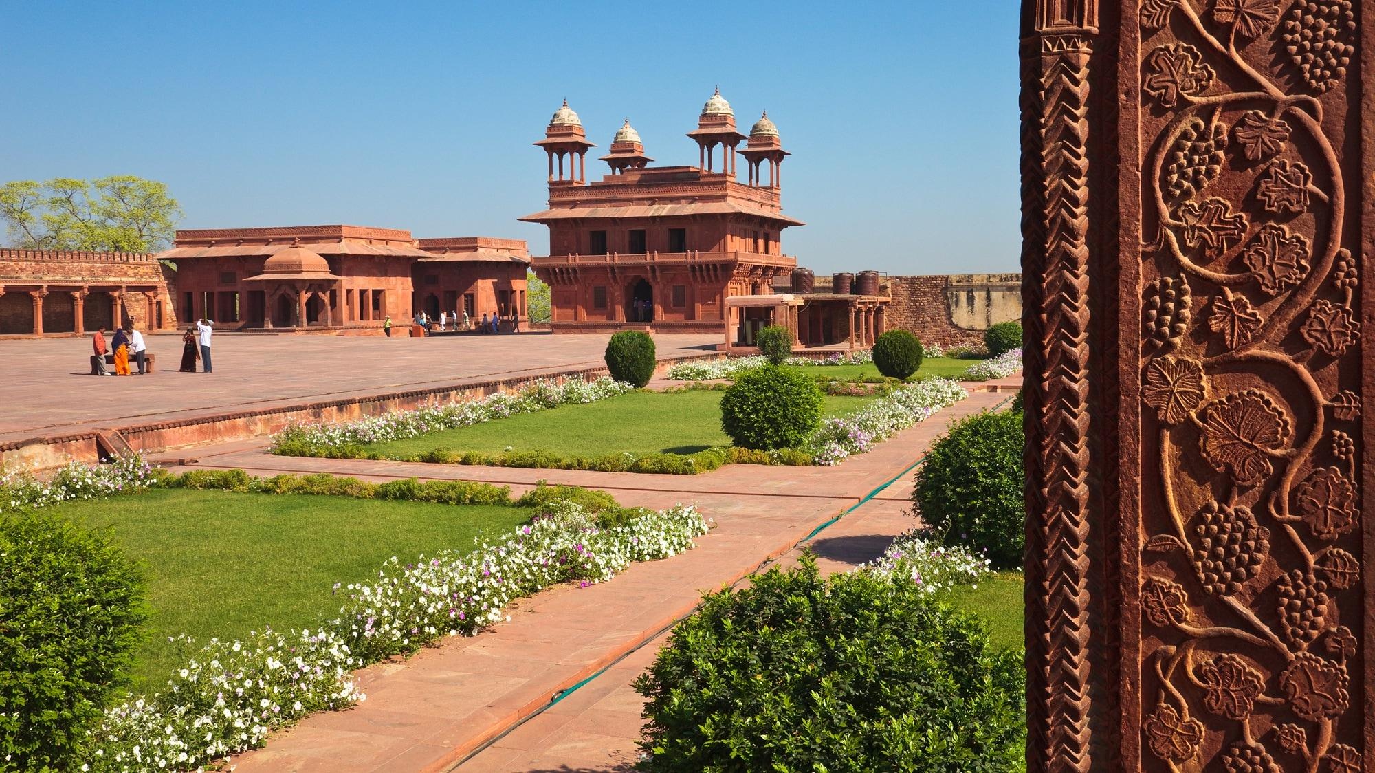 Fatehpur Sikri Fort Interiors