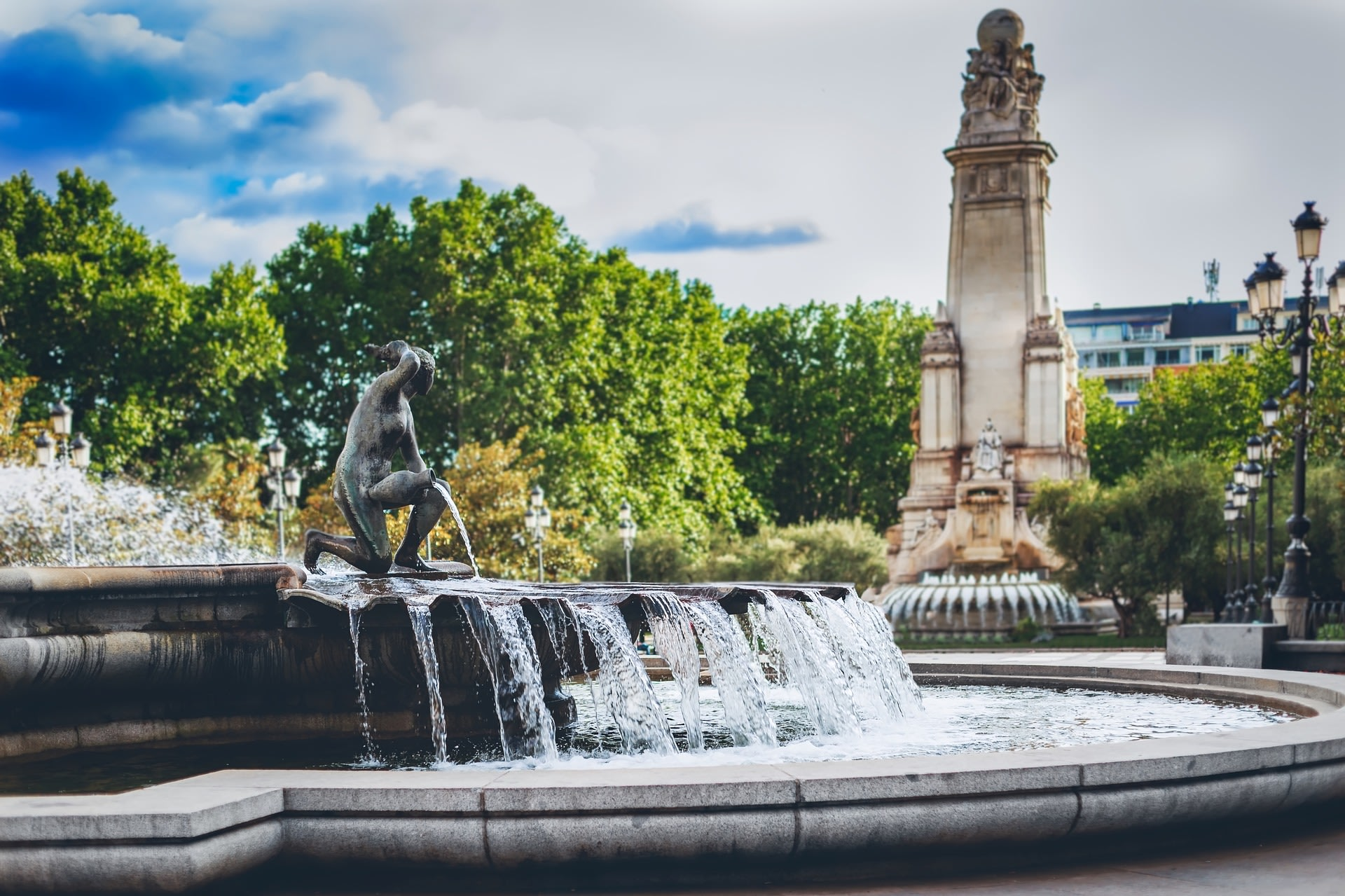 Palau Nacional and Magical Fountains