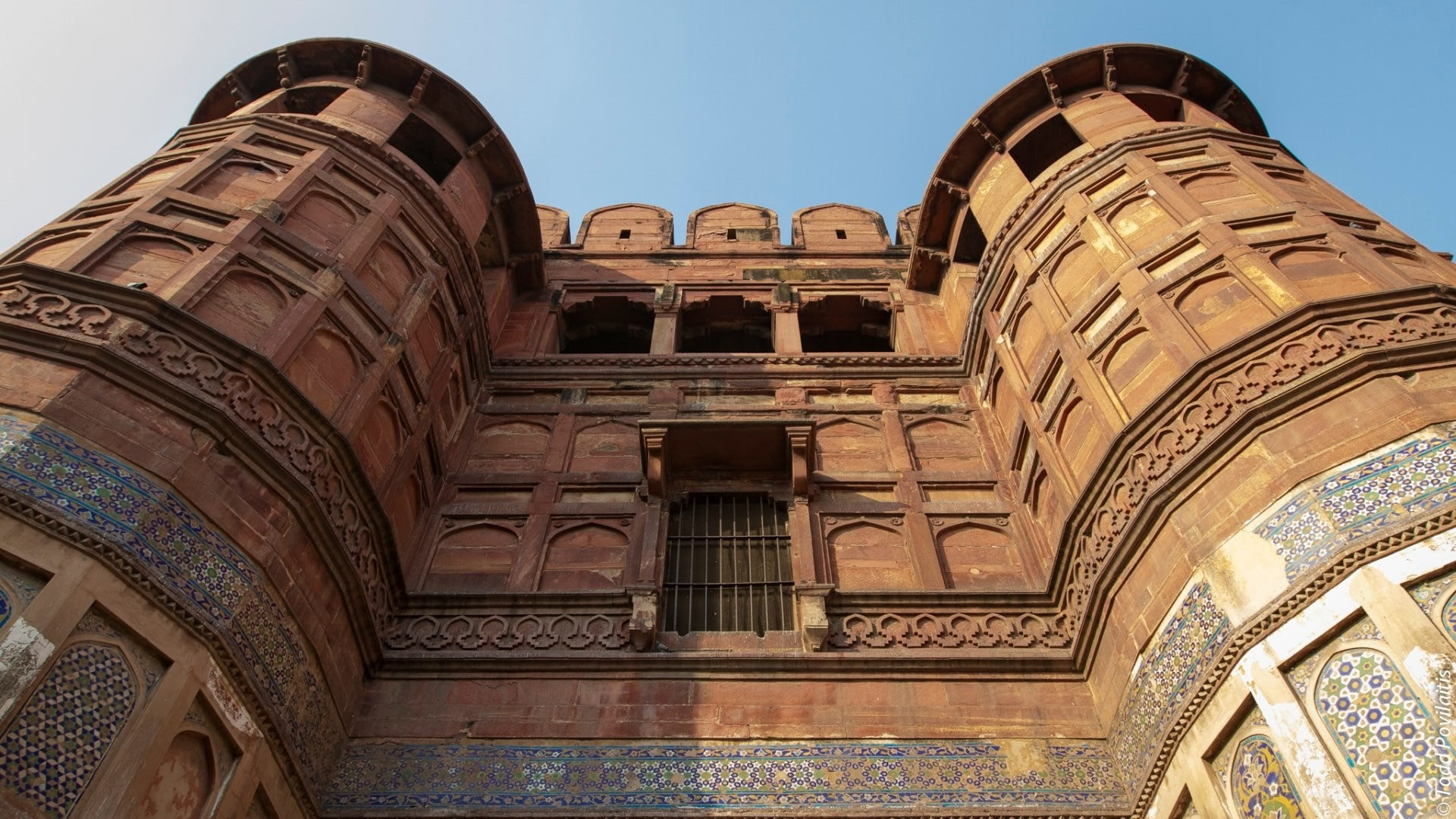 A Part from Agra Fort