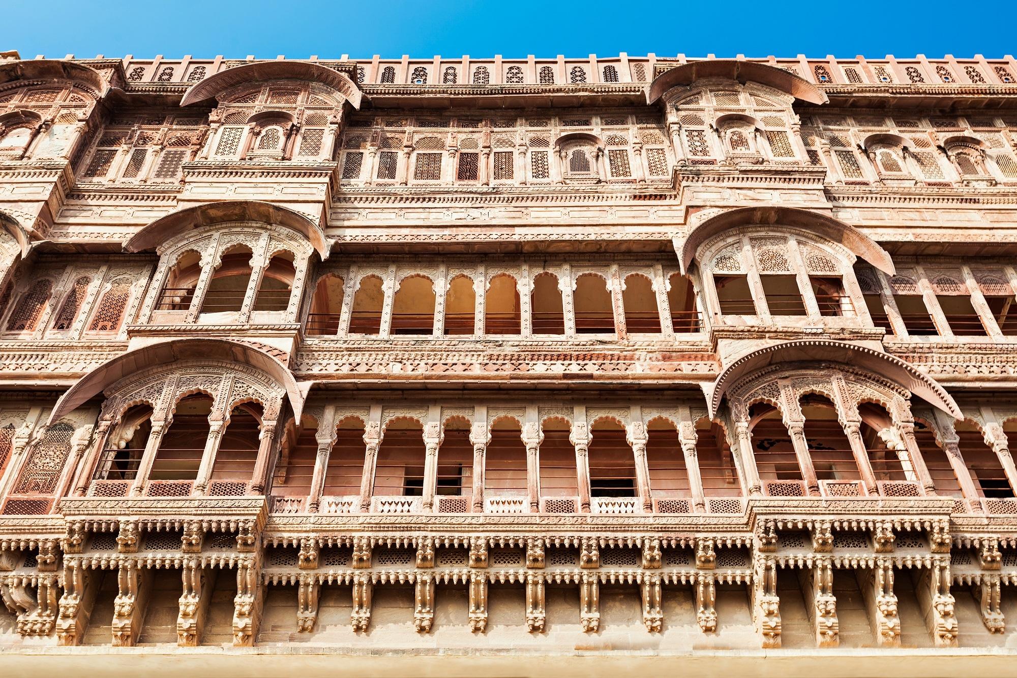 Inside Part of Jodhpur Fort