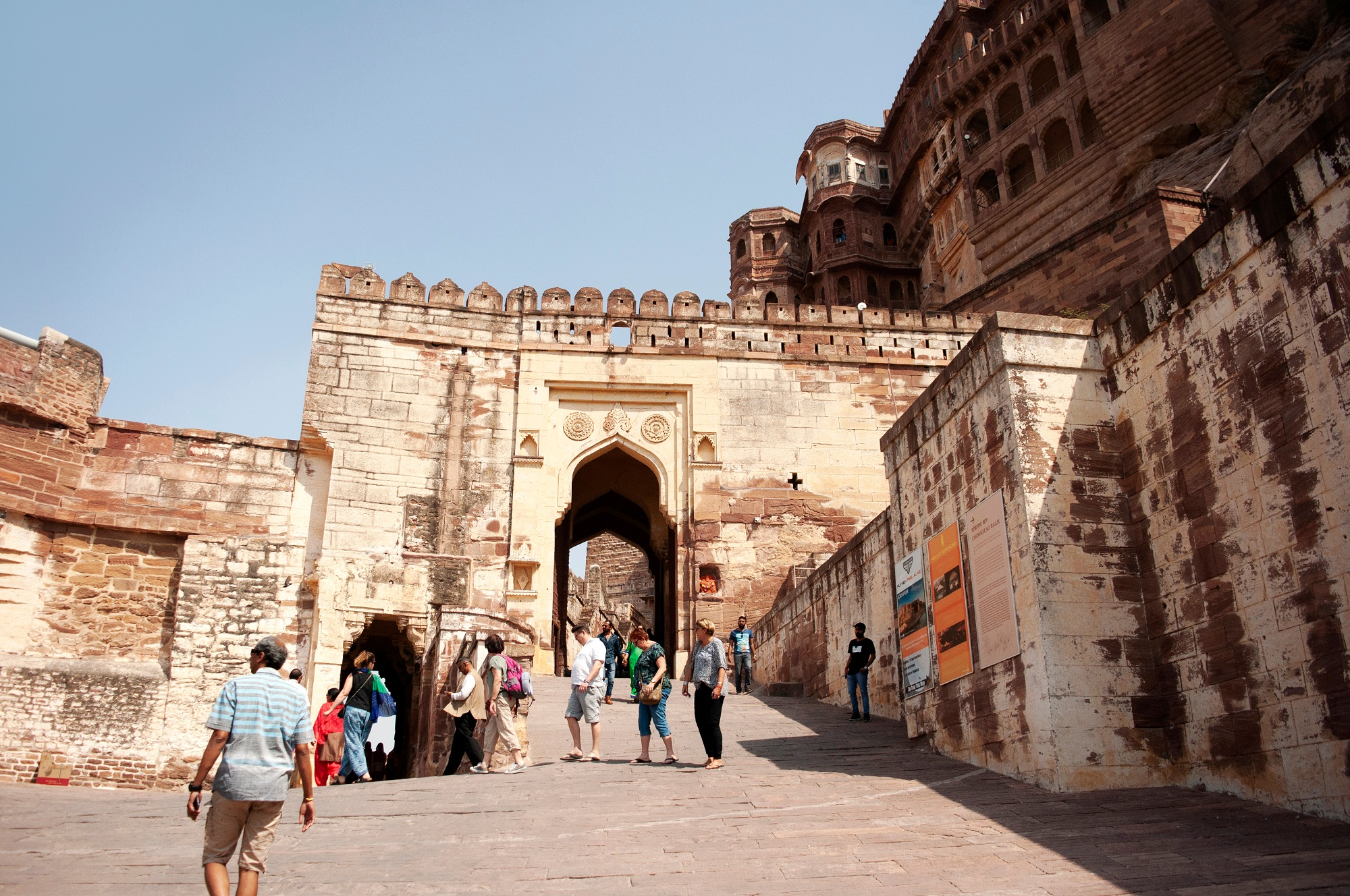 Inside Part of Mehrangarh Fort