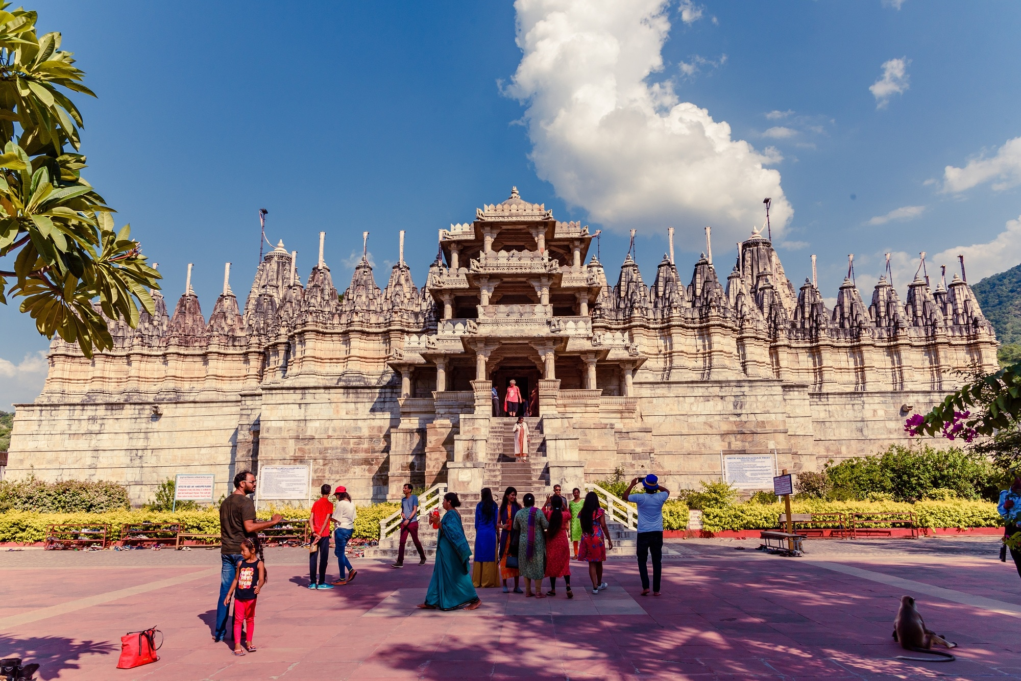 Out Side part of Ranakpur Temple
