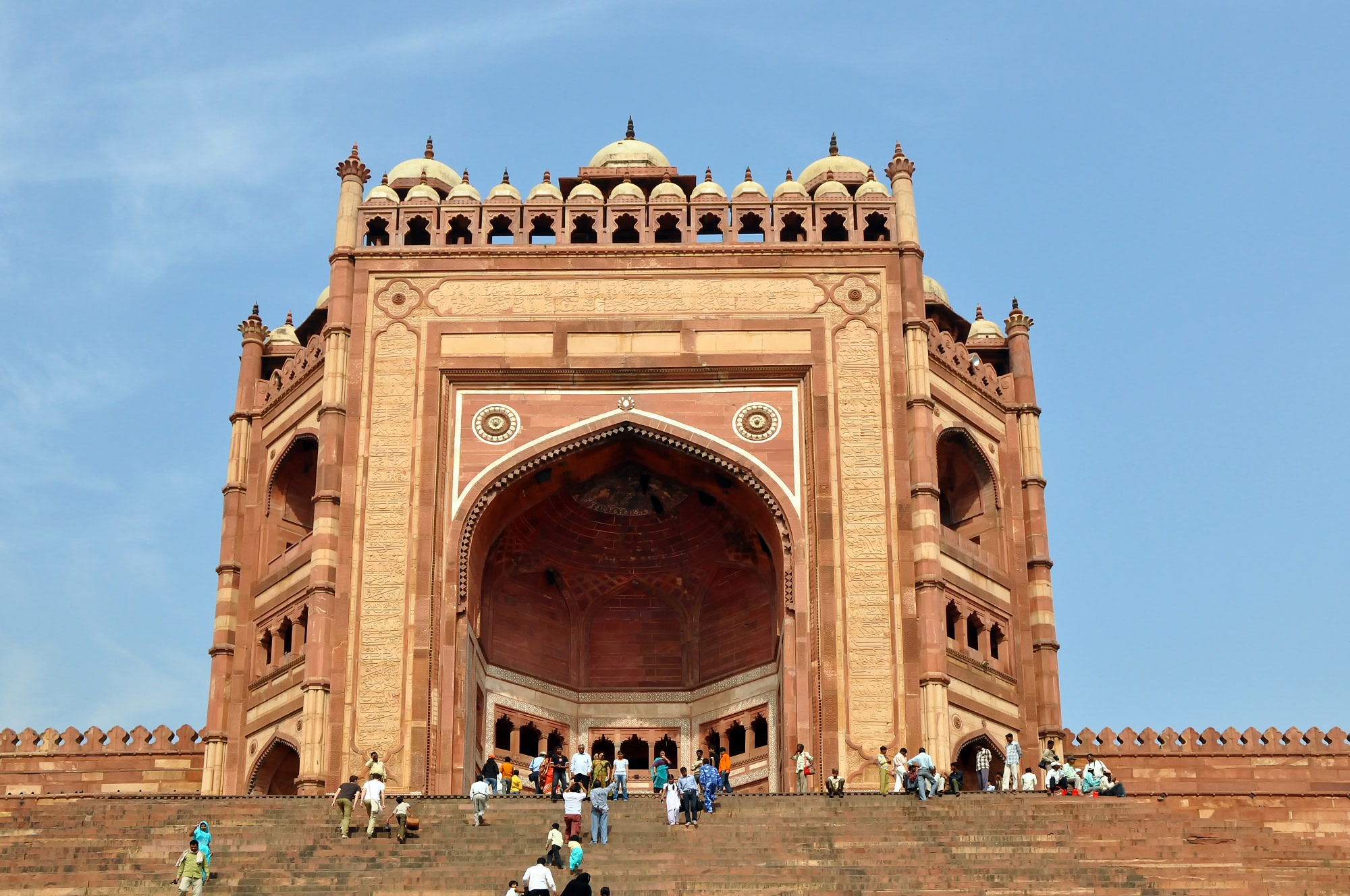 Buland Darwaza (Inside part of Fatehpur Sikri)