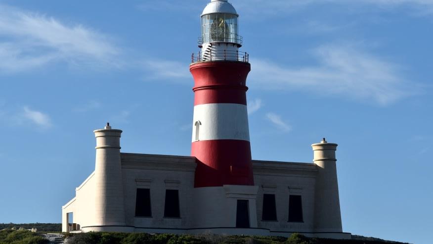 Visit the famous Cape Agulhas lighthouse