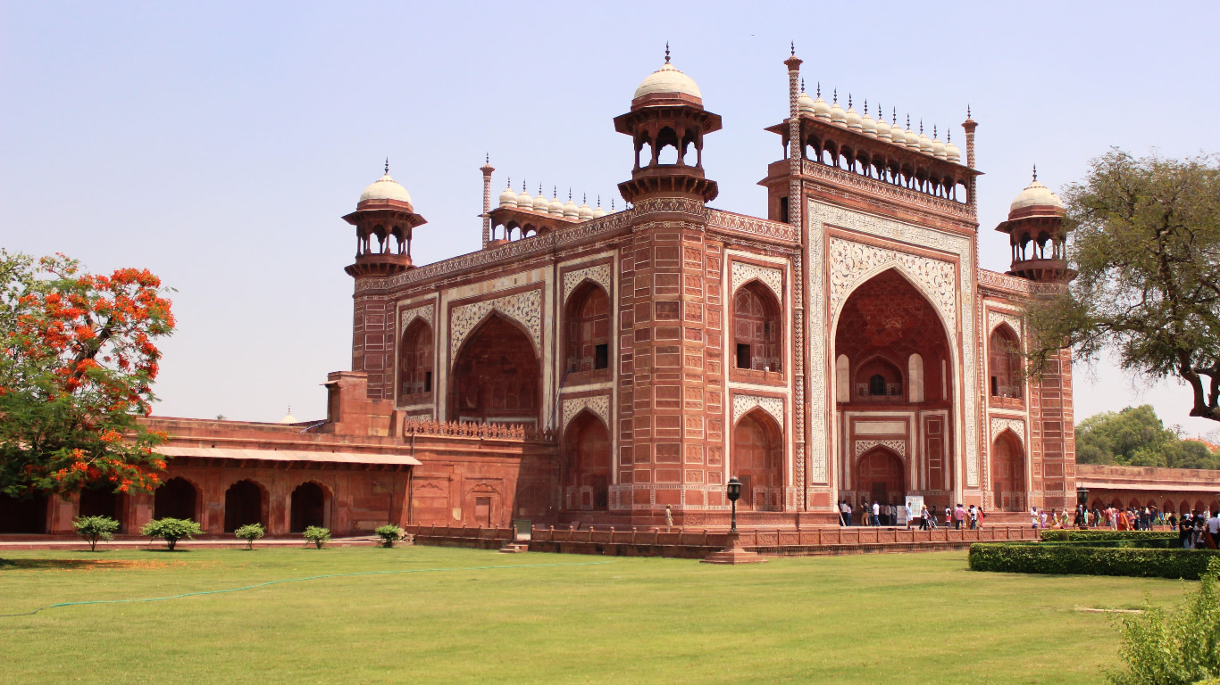Inside Part of Taj Mahal