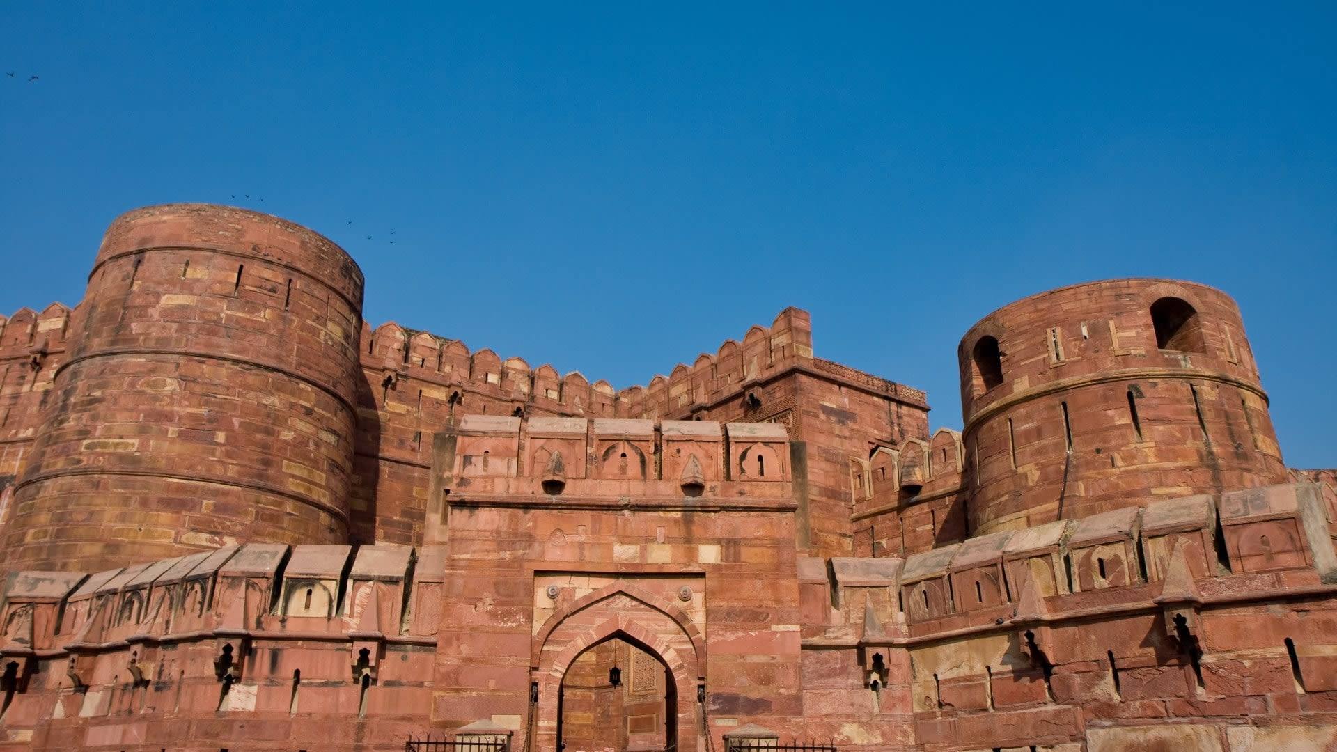 Out Side of Agra Fort