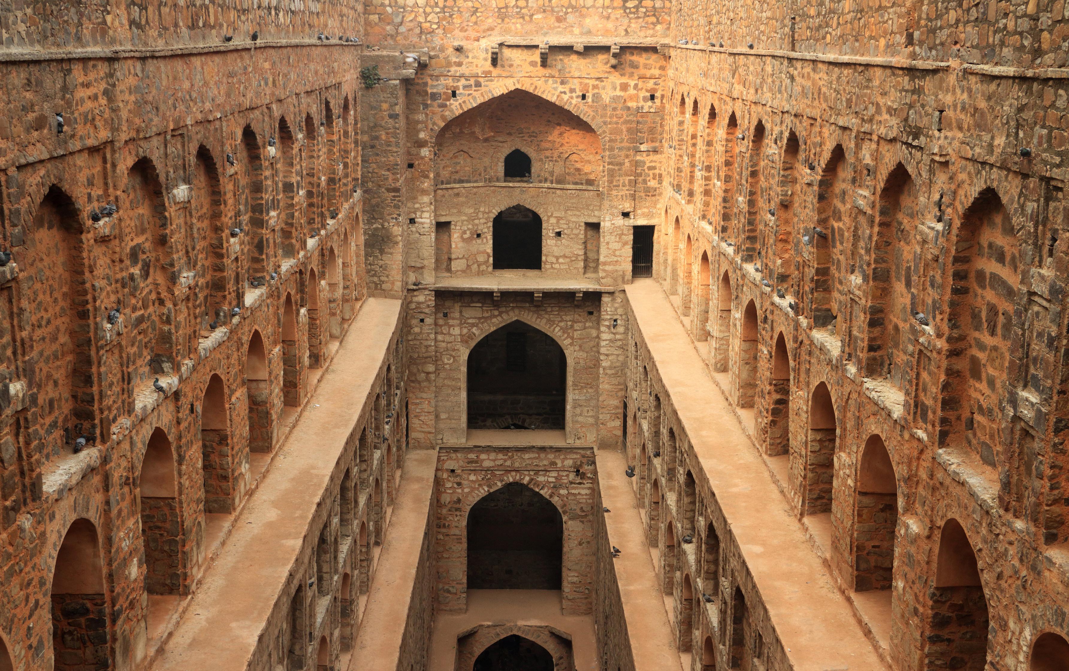 Agrasen Ki Baoli (Step well)