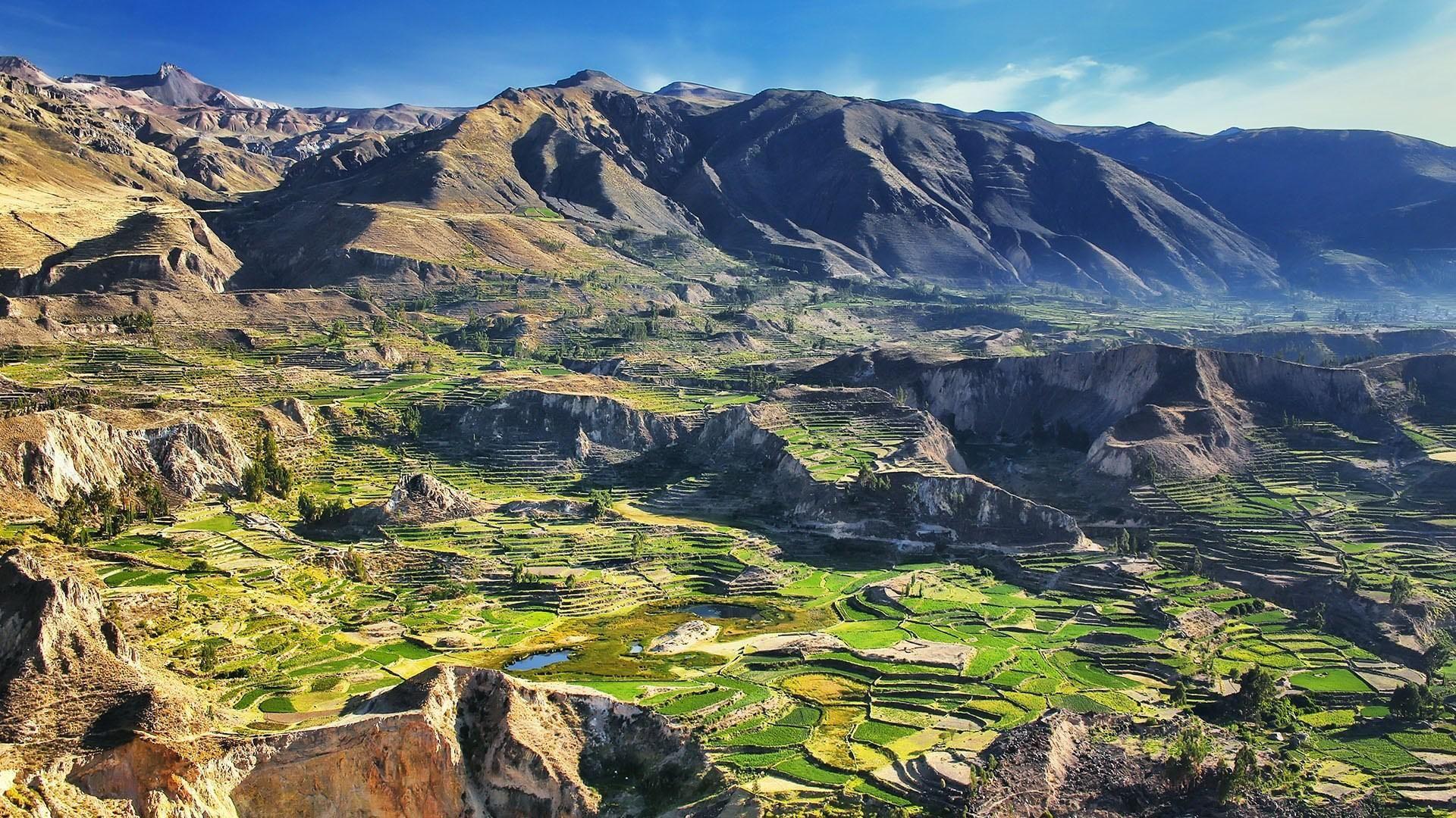 Colca Valley in Peru