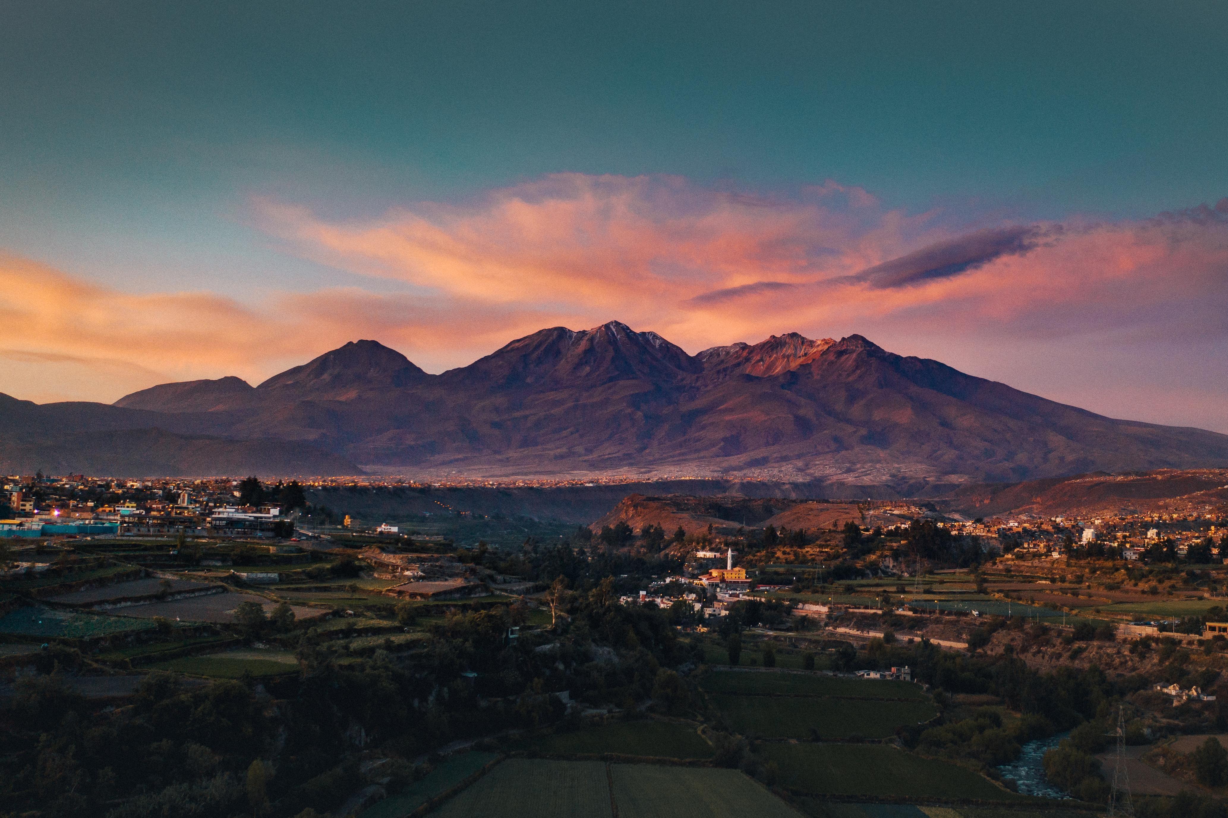 Chachani Volcano in Puno