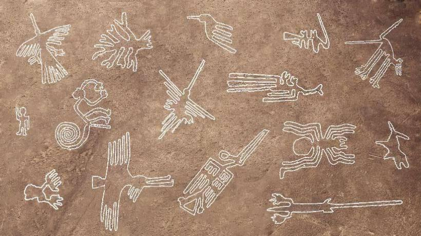 The mysterious Nazca Lines in Peru