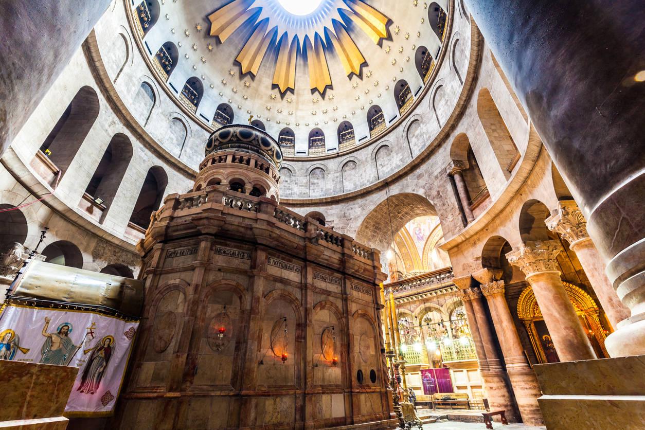 Church of Holy Sepulcher in Israel