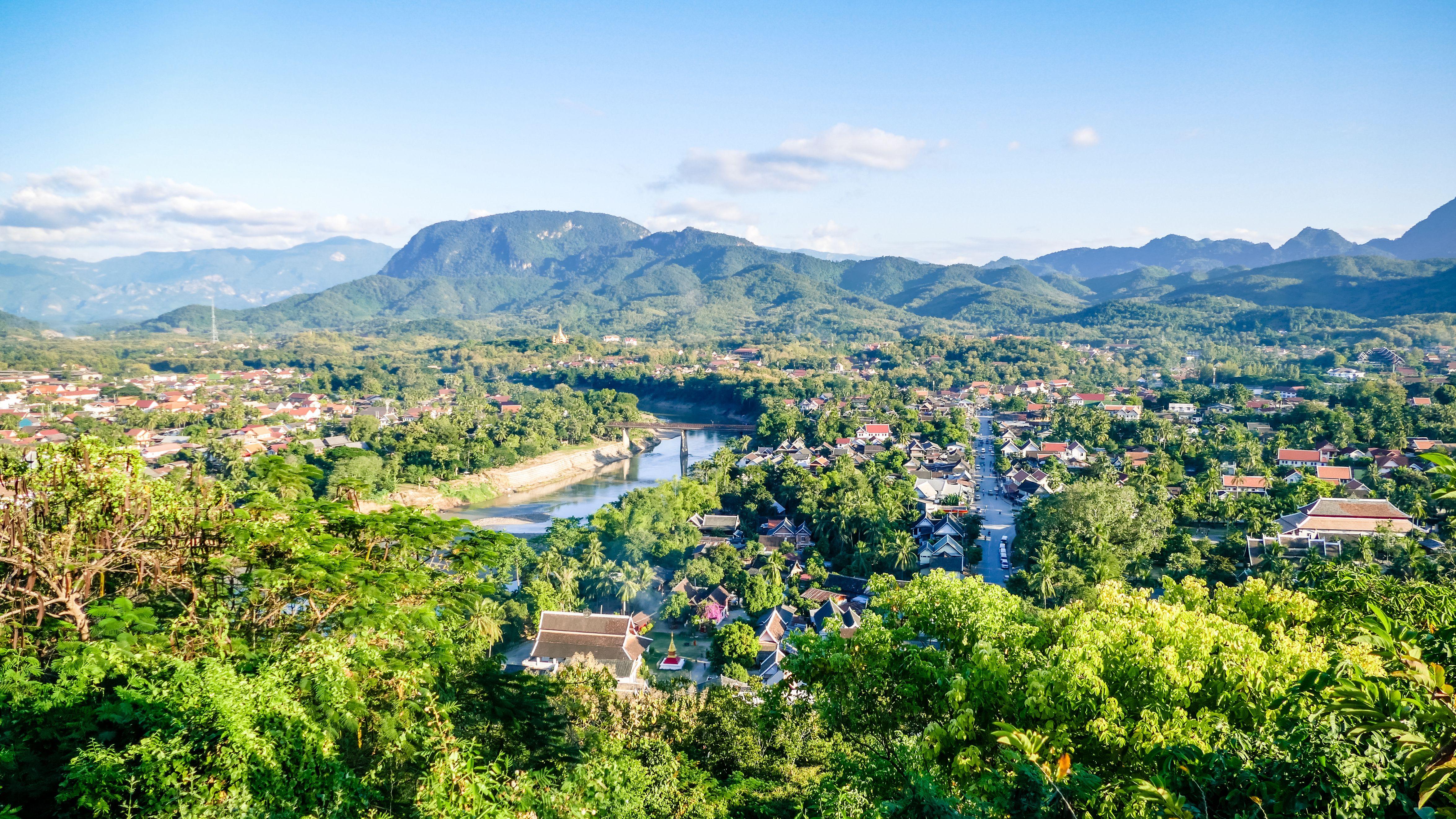 Luang Prabang, the ancient capital of Luang Prabang Province in northern Laos