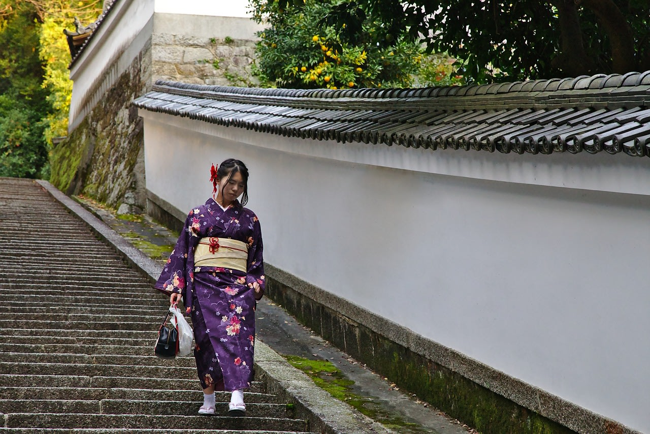Visit Gion, the