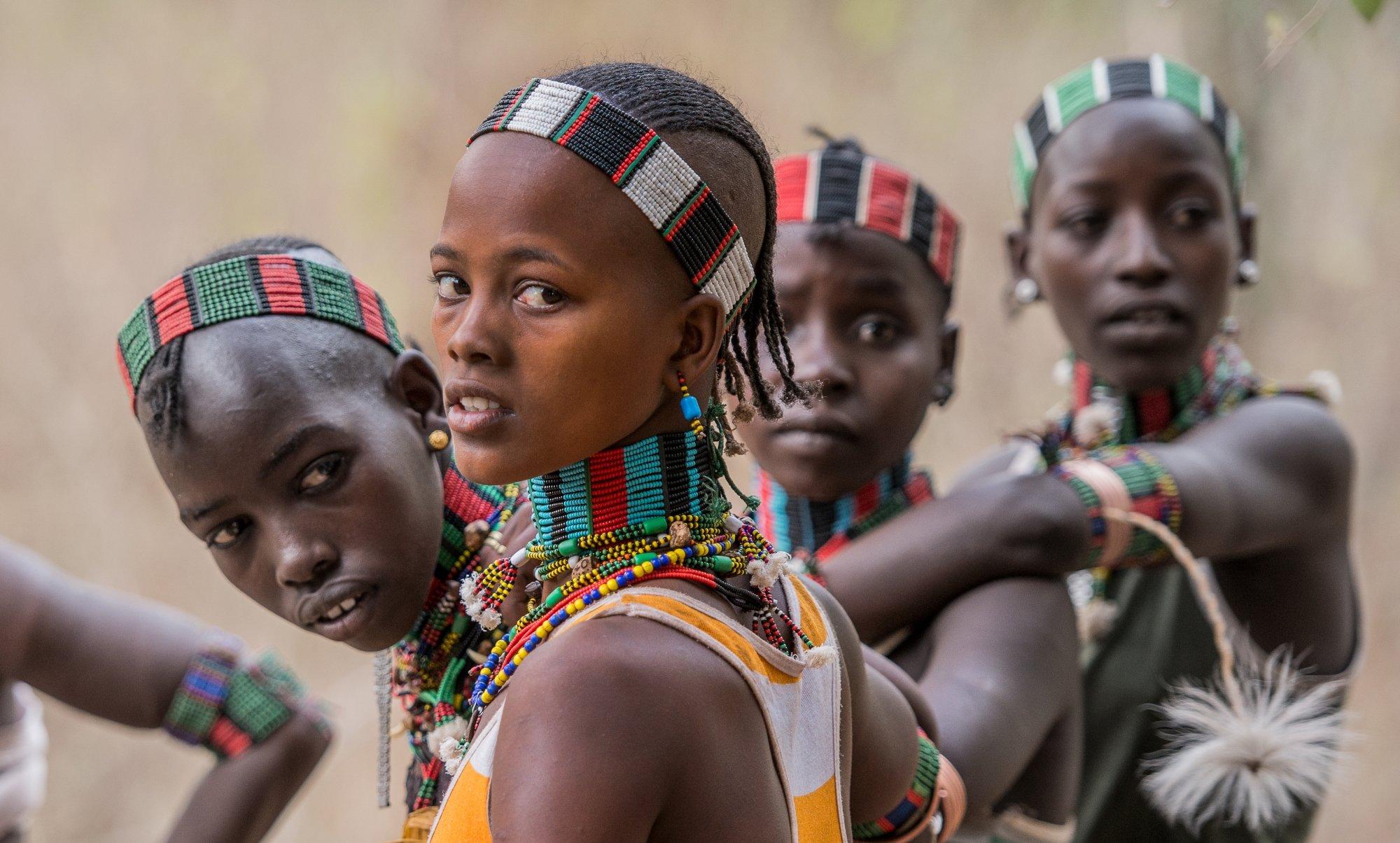 Benna tribe in Konso