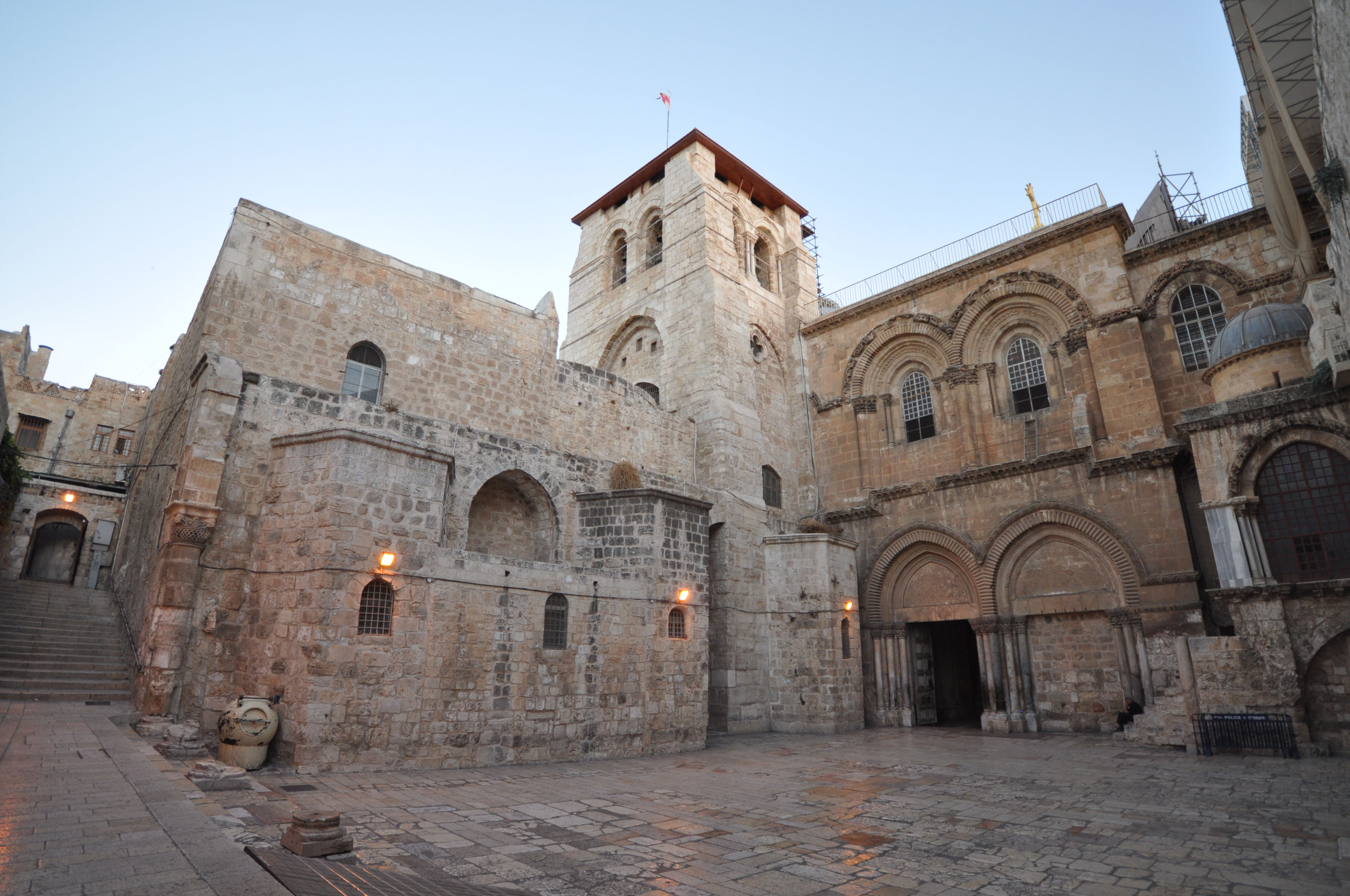 The Church of the Holy Sepulchered
