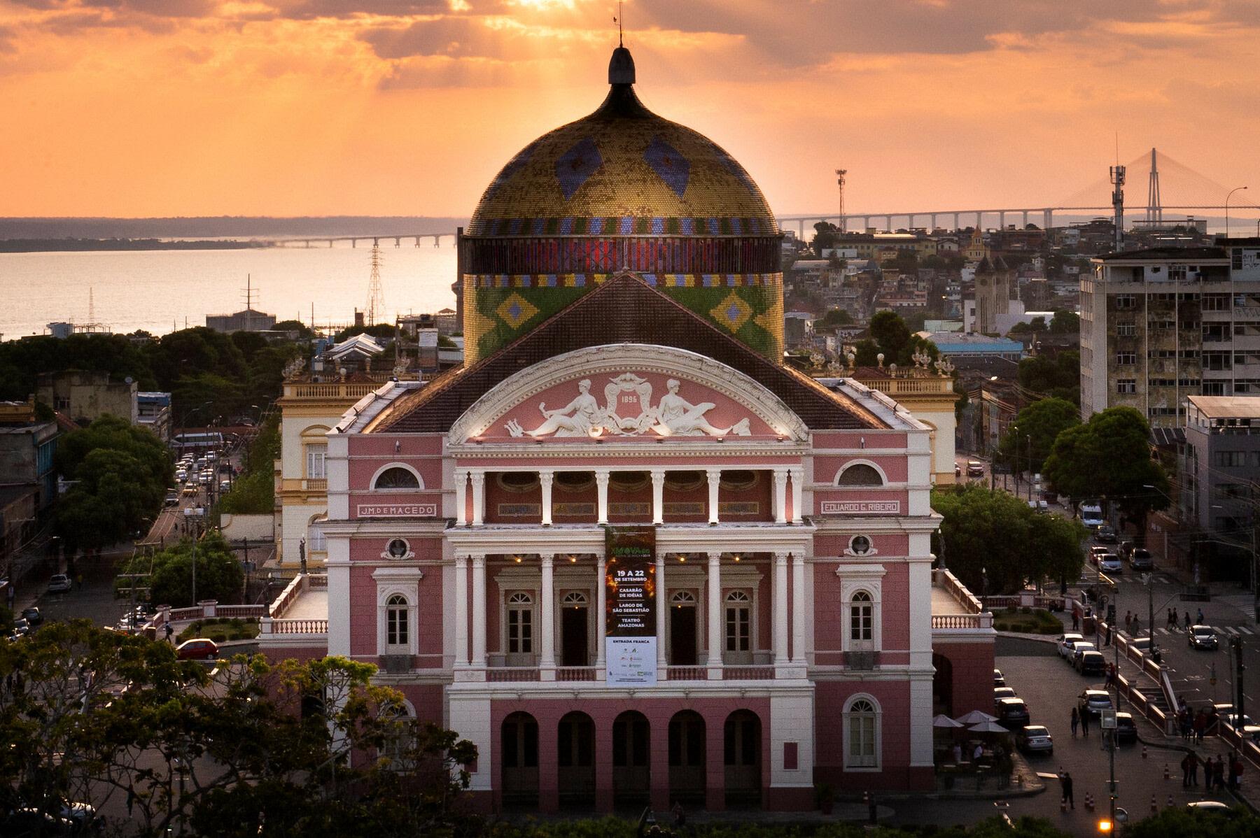 The Amazon Opera Theatre in Brazil