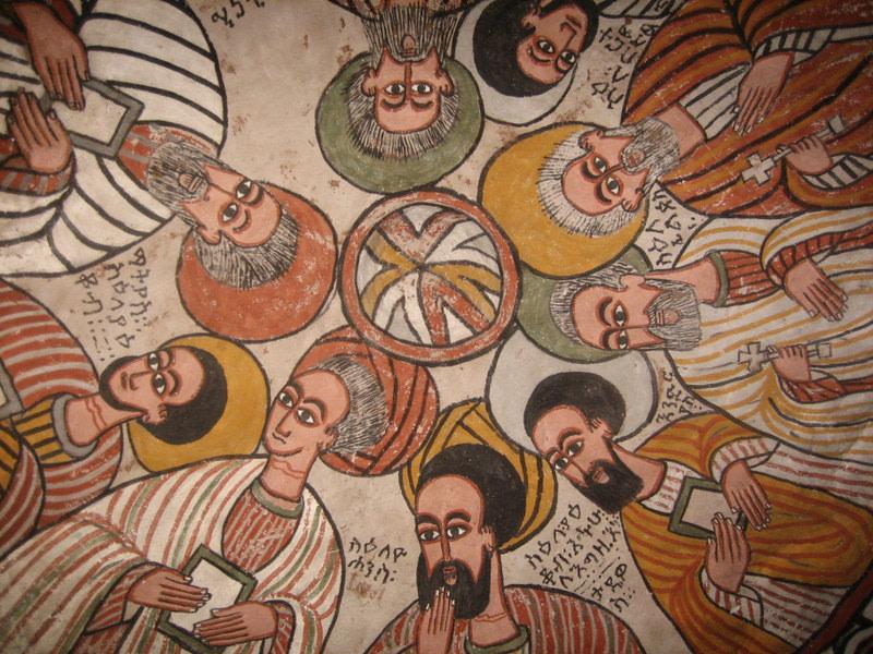 Painting in Abuna Yemata Guh Church