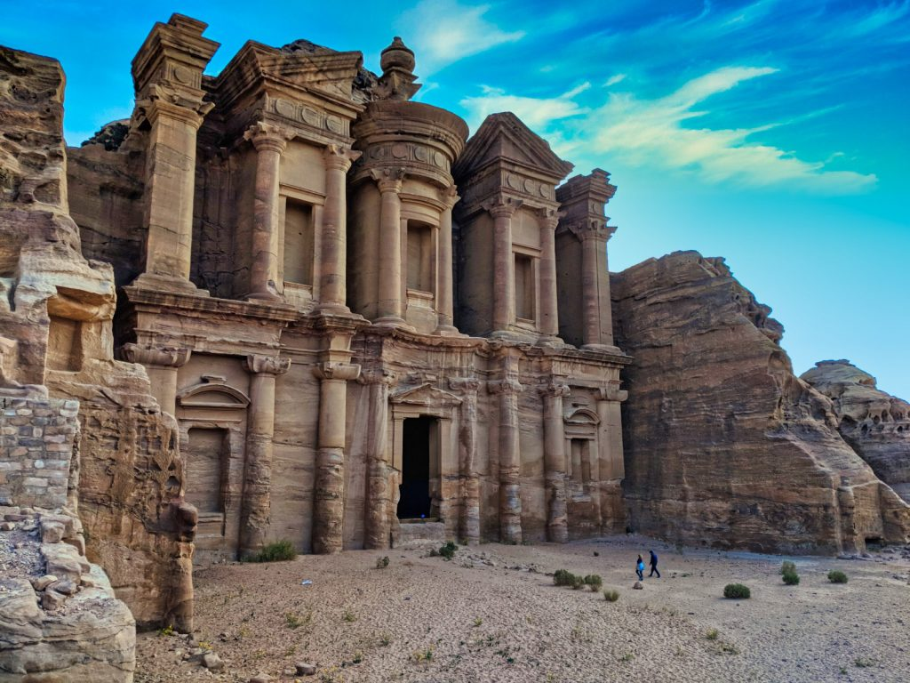 Ancient Ruins of Petra in Jordan