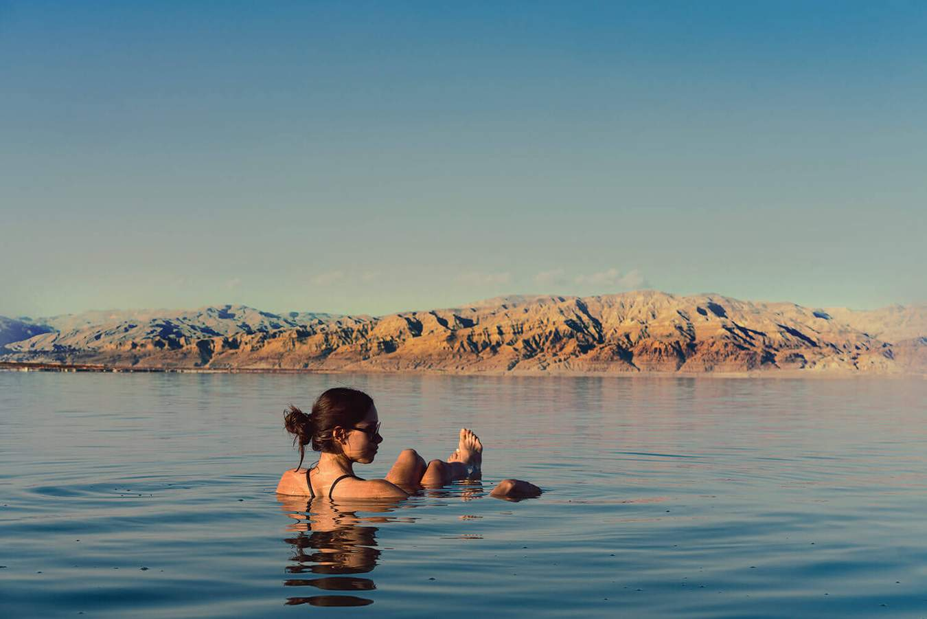 Relax in the Dead Sea in Jordan
