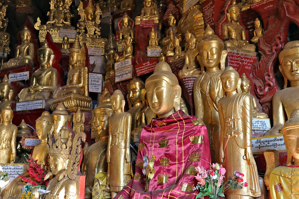 Pindaya Caves, Myanmar