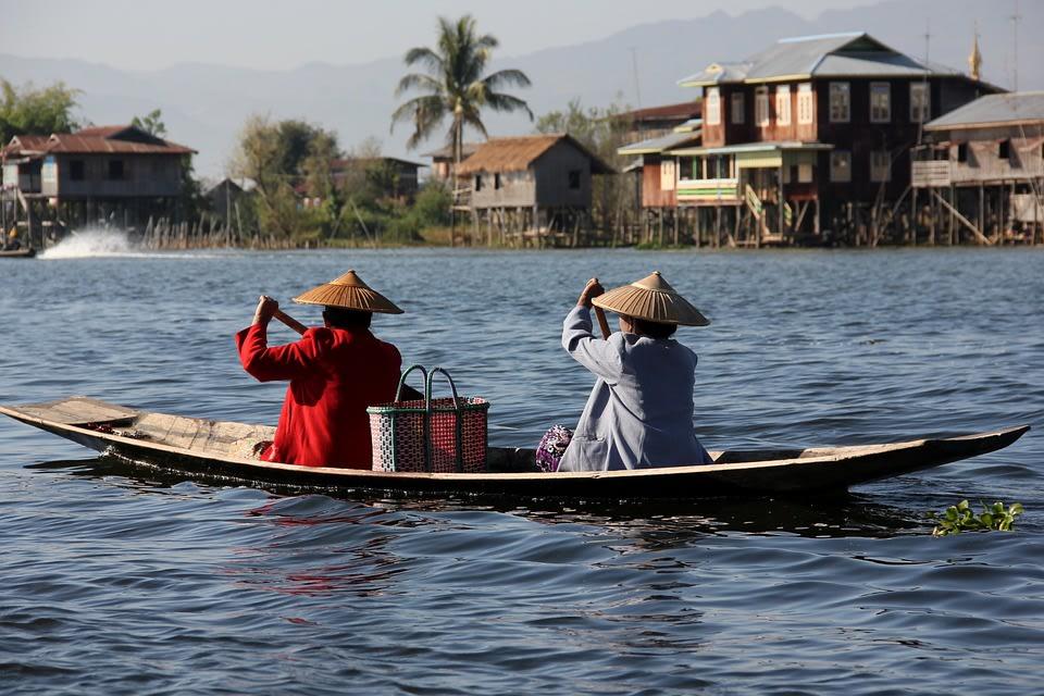 Boat Excursion on Inle Lake, Myanmar