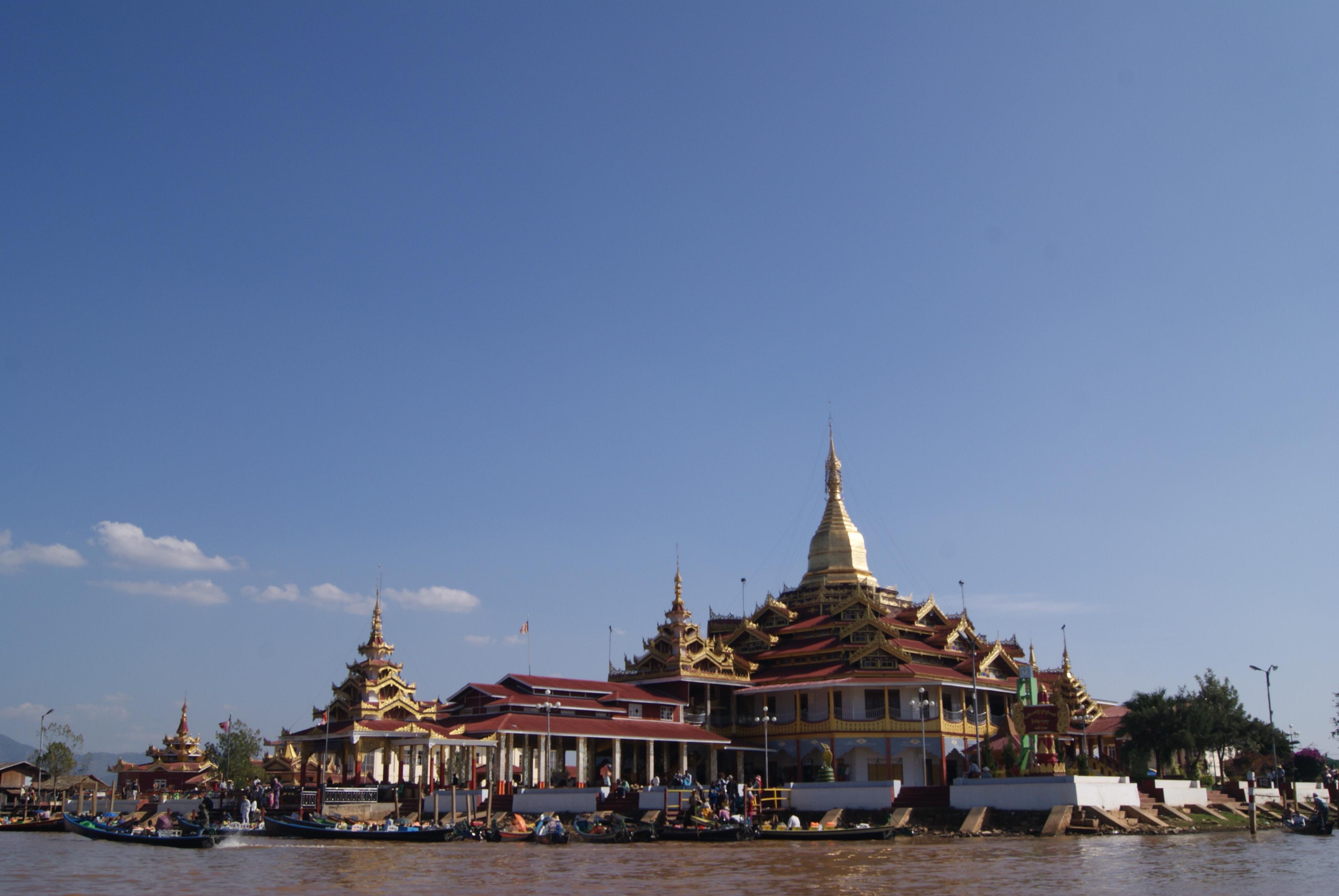 Phaung Daw Oo Pagoda, Myanmar