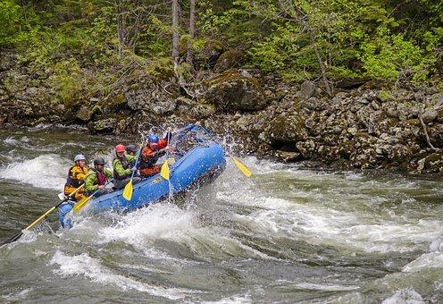 Rafting on Alberton Gorge