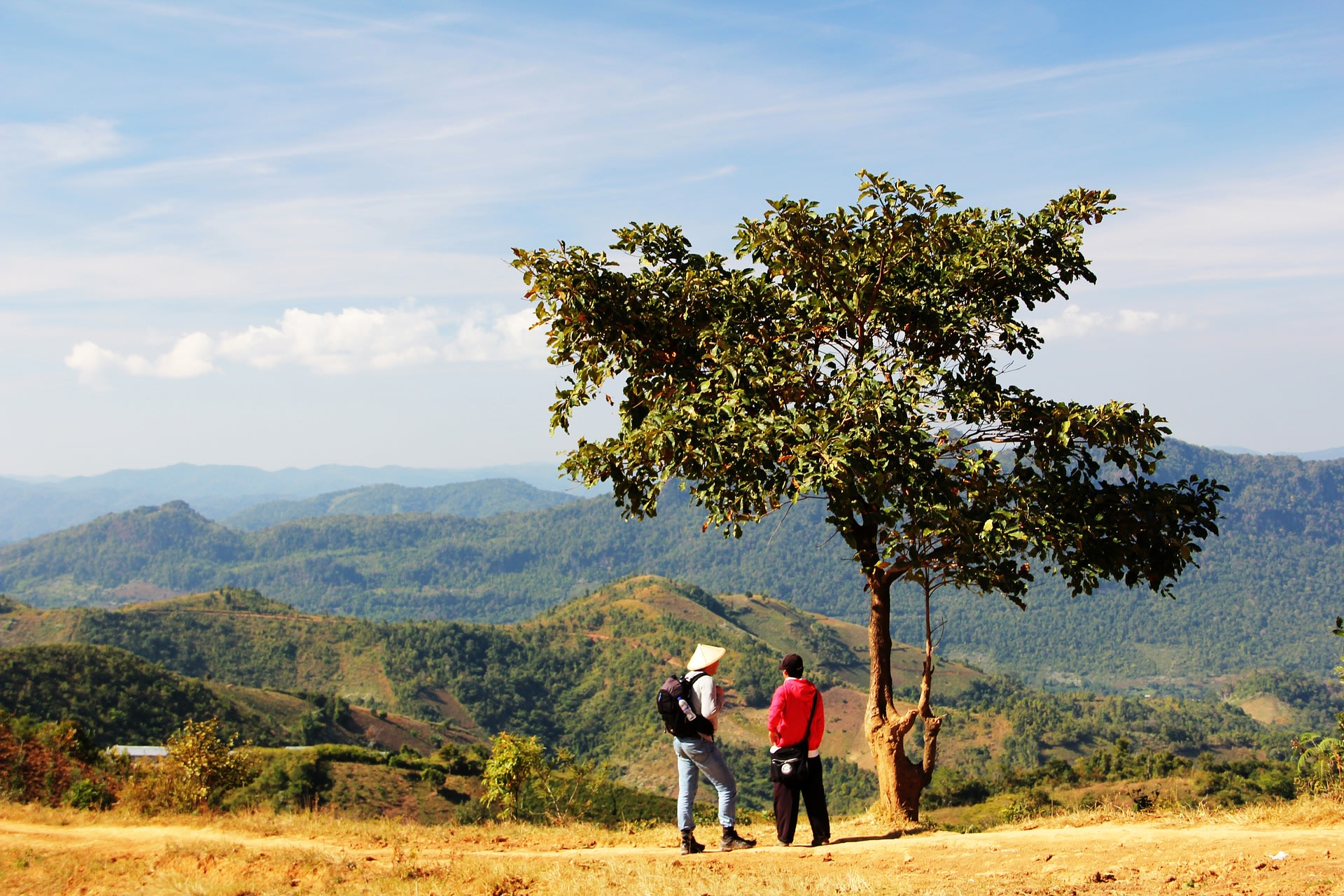 Admire the scenic views on the Kalaw tour
