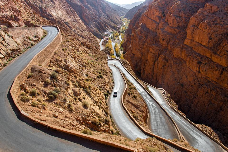 Dades Gorges, Morocco