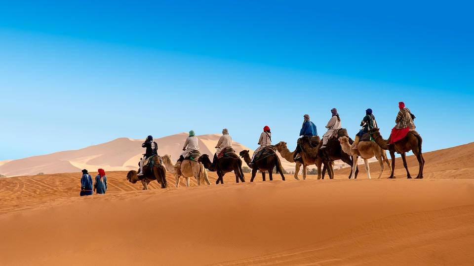 Dunes of Erg Chebbi, Merzouga
