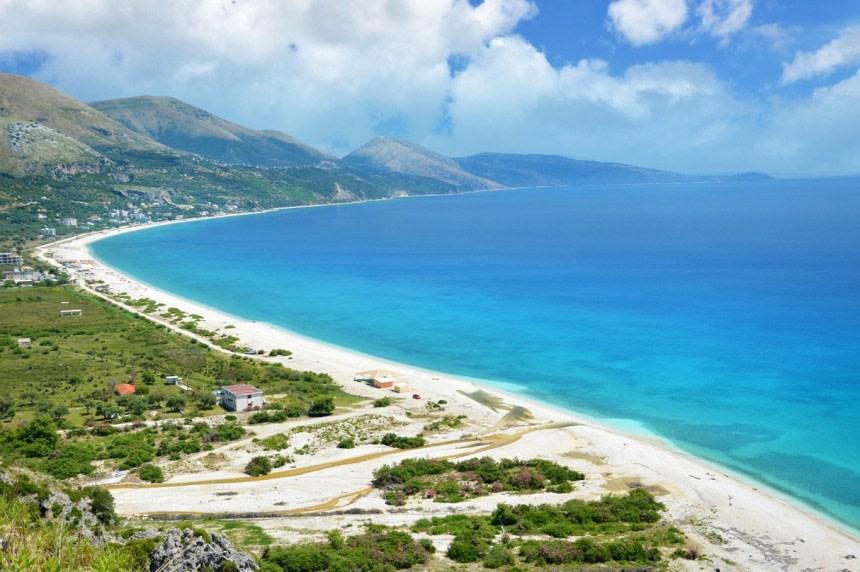 View from Ksamil Beach