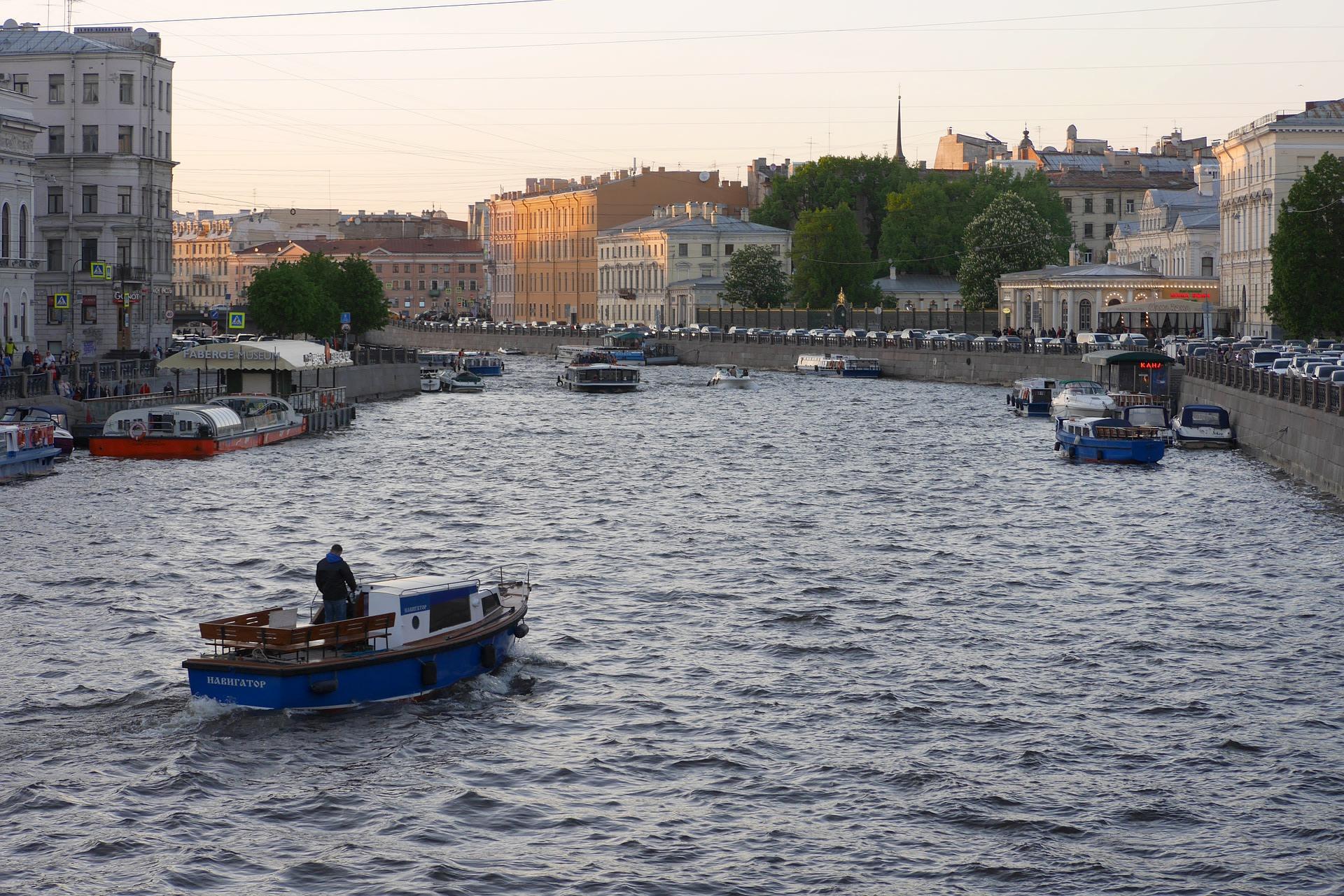 Stunning Fontanka River