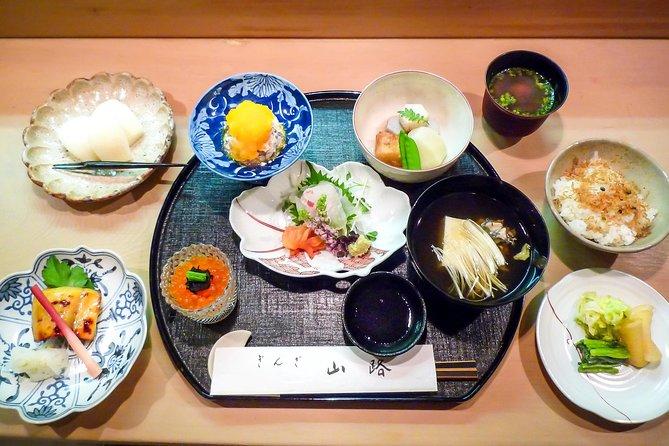Typical Kaiseki Dinner