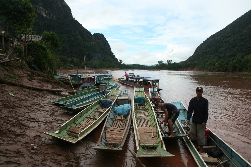 Boat Ride On Ou River