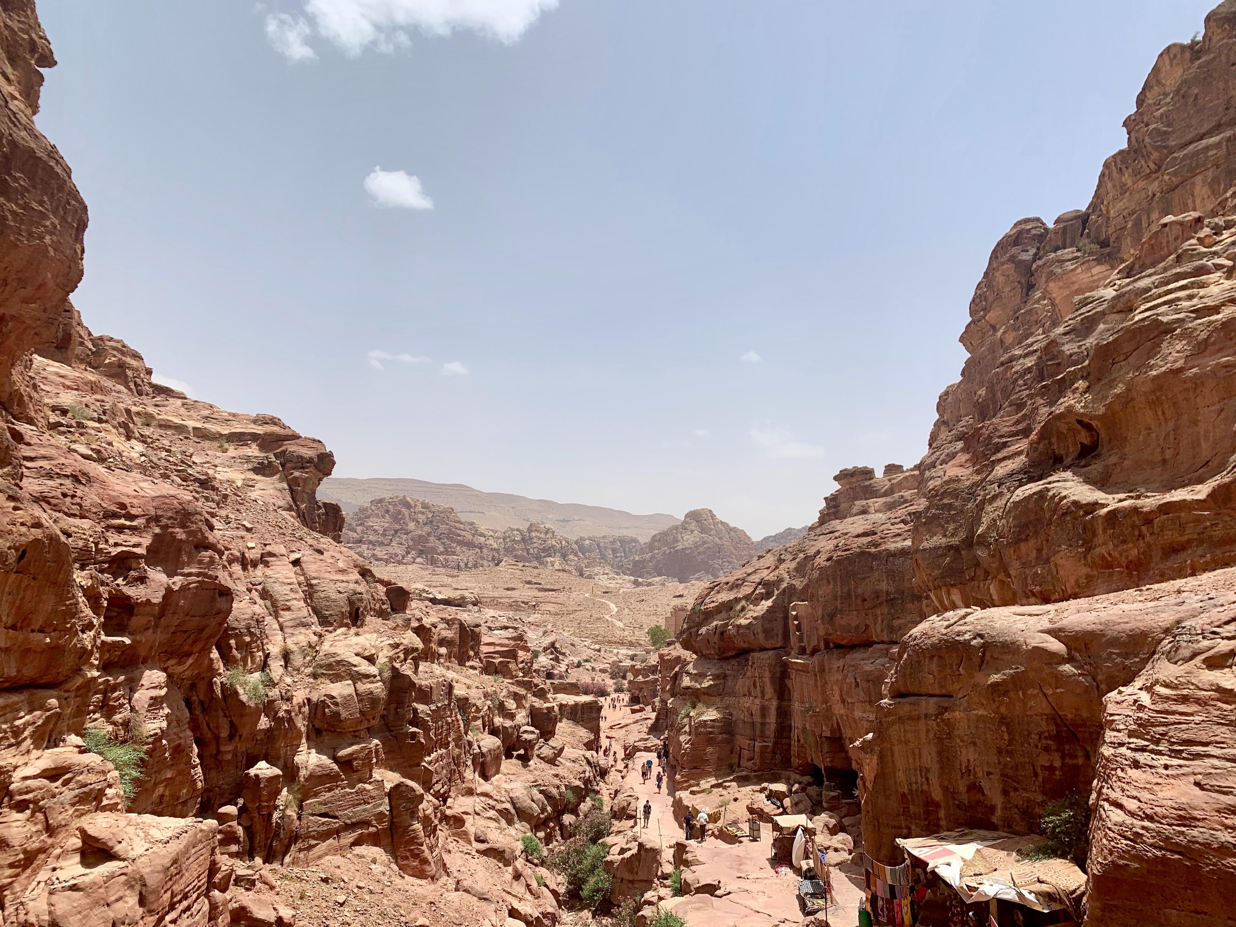 Sightseeing in Al-Siq, Petra District