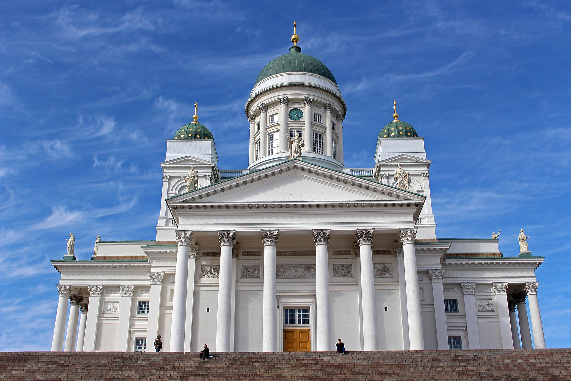 Spend some time at the Helsinki Cathedral