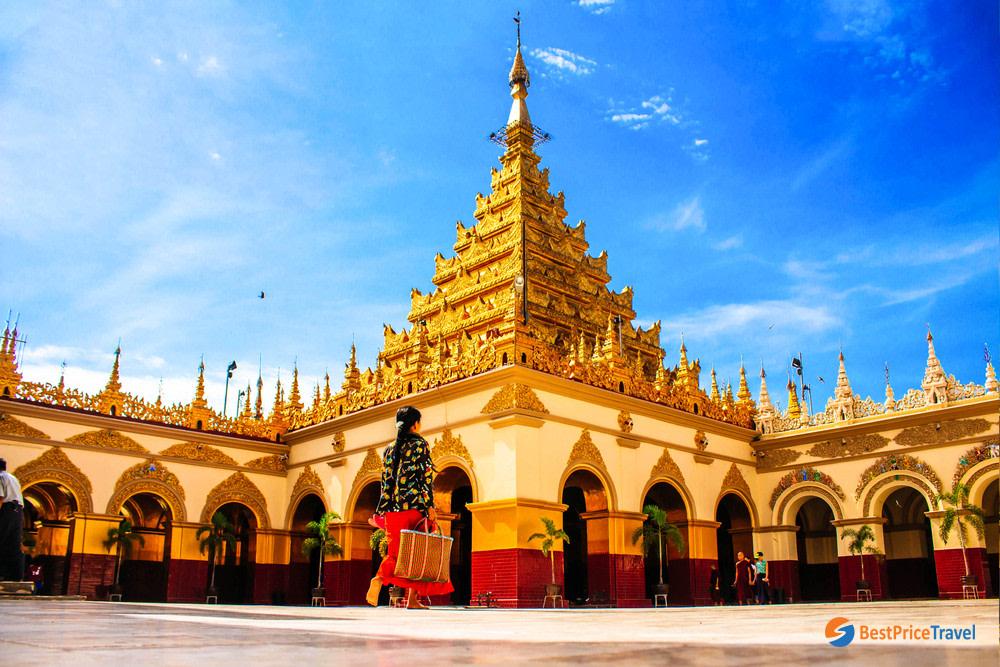 Visit the Astounding Mahamuni Temple
