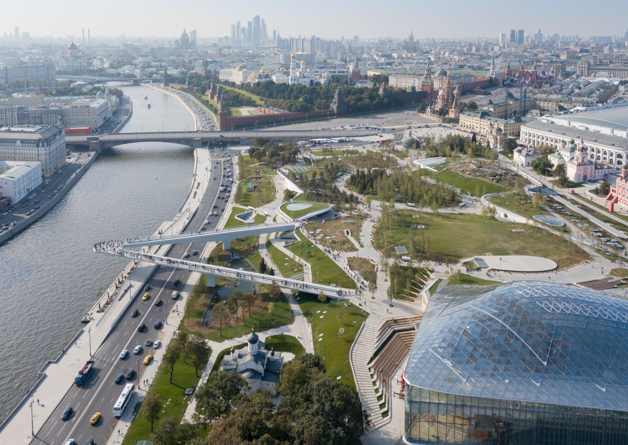 Zaryadye Park Moscow