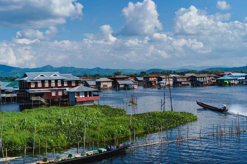 Reach the Famous Inle Lake