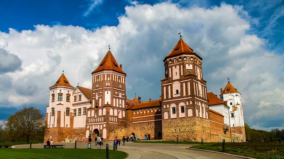 Visit the magnificent Mir Castle