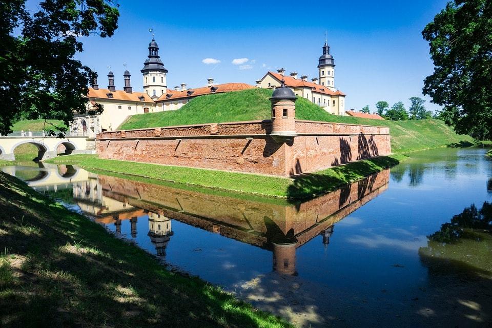 Explore the Nesvizh Castle