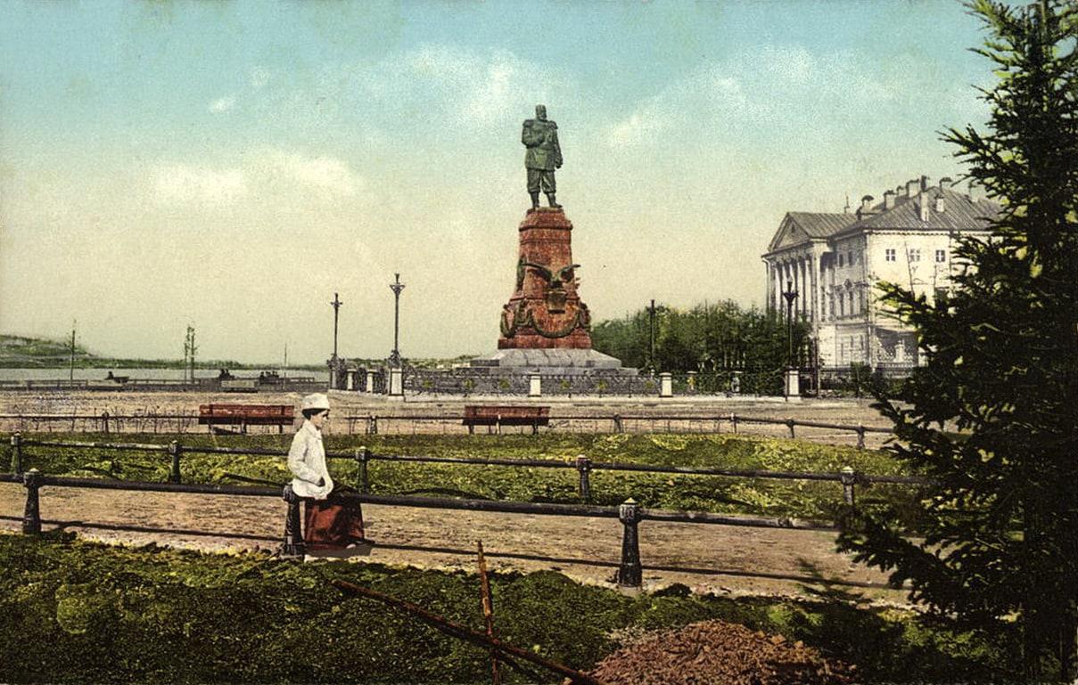 Monument to Alexander III, Irkutsk