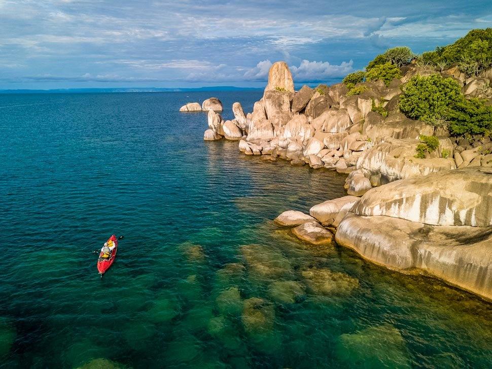 Swim in the Crystal Clear Lake Tanganyika