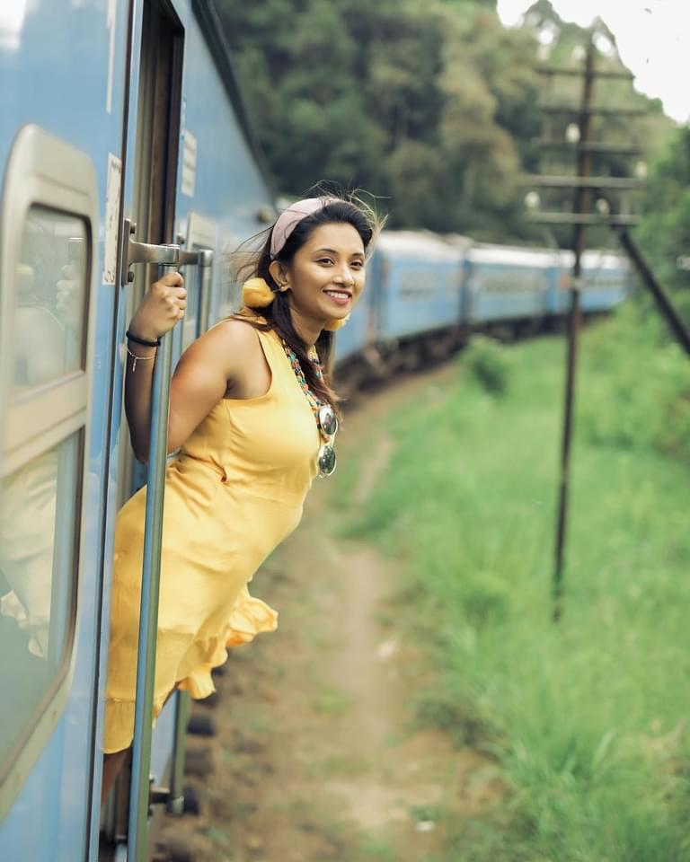 Enjoy scenic train rides