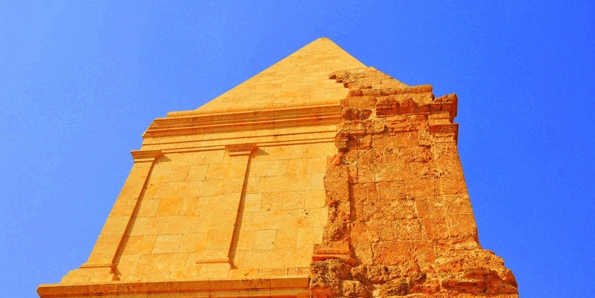 View the Spectacular Hermel Pyramid