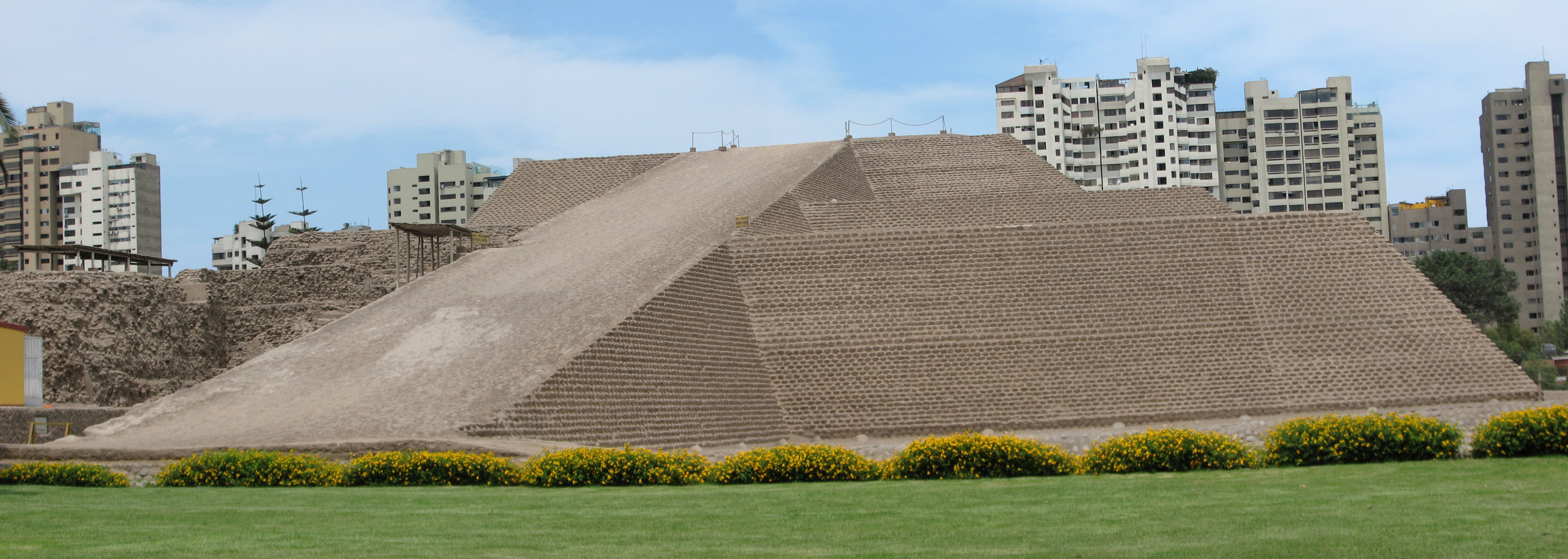 Visit the Huaca Huallamarca Archaeological site