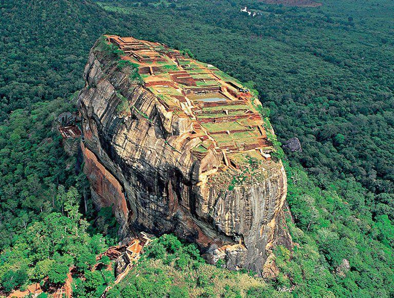 See the mighty Sigiriya fortress