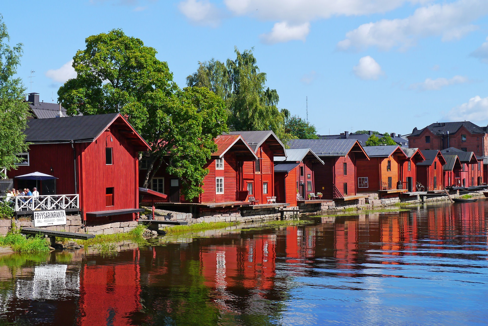 Admire the Wooden Houses of Porvoo