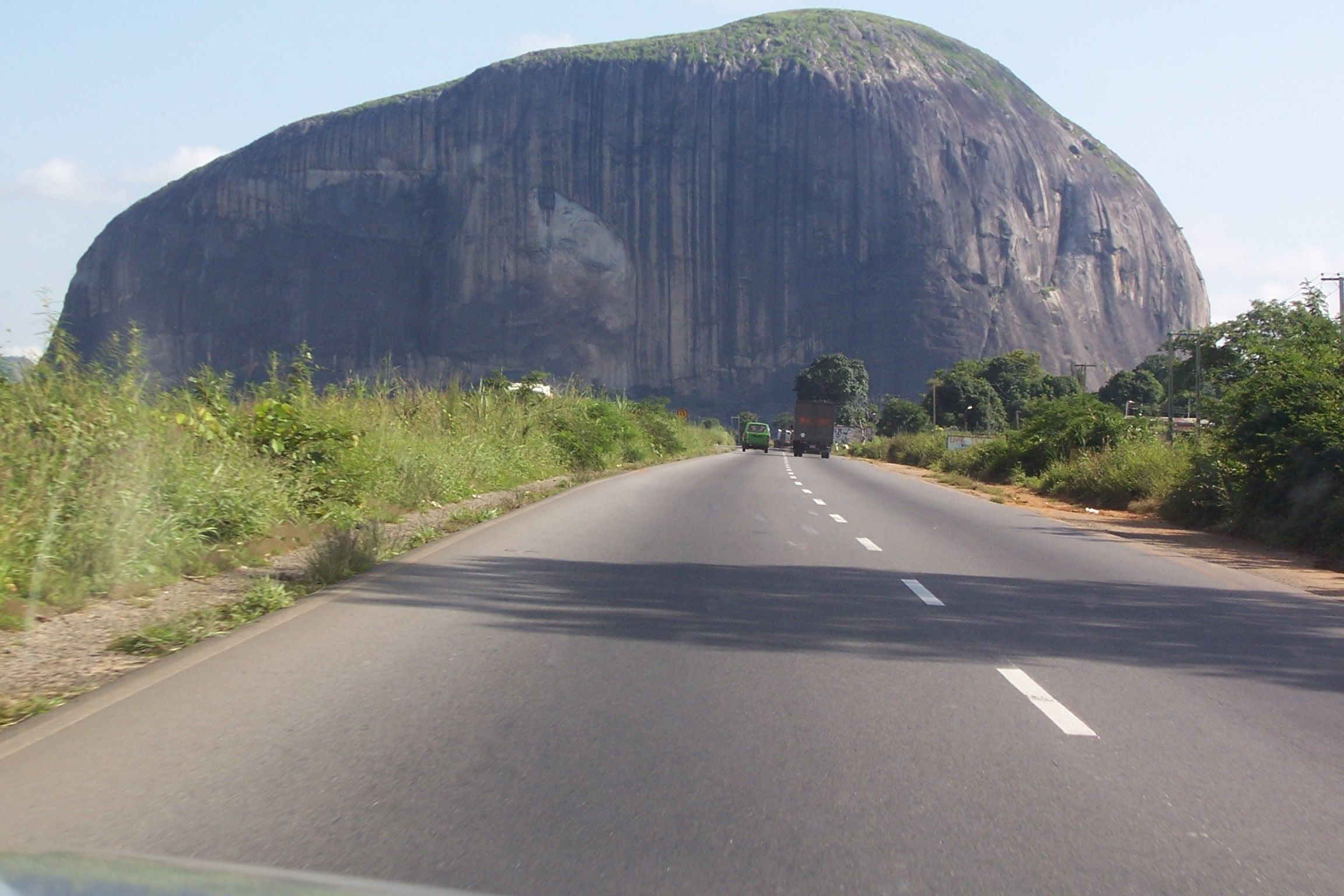 Marvel at the Giant Aso rock