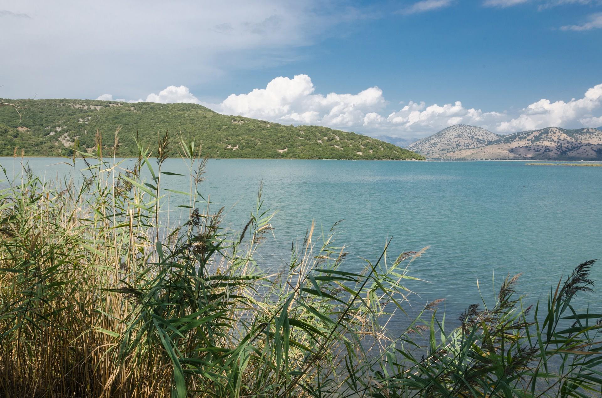 Enjoy a boat ride on Butrinti Lake